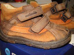 Кожаные ботинки Melania размер 20