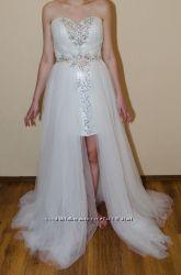 Оригинальное свадебное платье аналог платья Mac Duggal