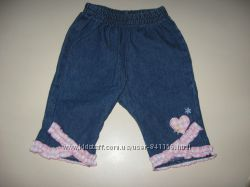 джинсовые шортики Disney на 6-12 мес