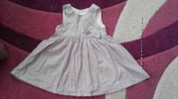 Красивое платье h&m на 1, 5-2 года, носили до 3 лет Германия
