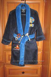 халат и тапочки в подарок 98-110 см
