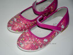 Туфли для девочки 26-31-й розовые