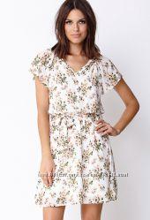 Летнее платье Forever 21 с цветочным принтом