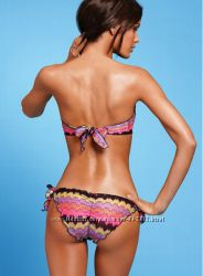 Купальник Victoria&acutes Secret Zigzag Bandeau Top & Low-Rise Bottom