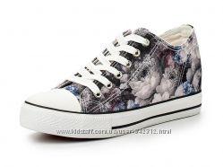 Летняя обувь - Кеды со скрытой танкеткой