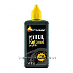 Смазка для цепи Hanseline MTB-Oil, 125мл графитная