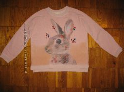 Свитшот кофта Zara девочке 7-8 лет