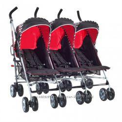 коляска для тройни