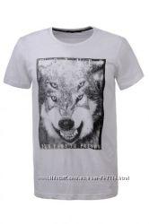 футболки Гло Стори черная и белая S-ХЛ