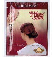 Натуральная хна для волос Moon Star коричневая