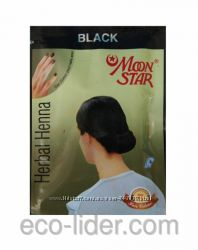 Натуральная хна для волос Moon Star черная