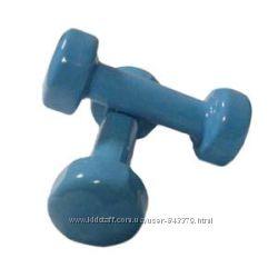 Гантели для фитнеса 2, 3, 4 LB виниловые