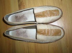 женские кожаные туфли RIEKER 26 см стелька