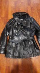 Куртка 48 р. теплая. натуральная кожа