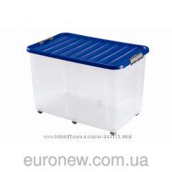 Контейнер для хранения пластиковый 75 л, 80х40х40 см, Heidrun, 1615, Италия