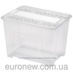 Контейнер для хранения пластиковый 185 л, 78х59х40 см, Heidrun 7215, Италия