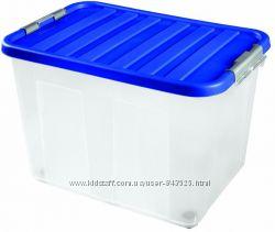 Ящик для хранения вещей на колесиках 75л, 60х40х40 см Опт и розница Италия