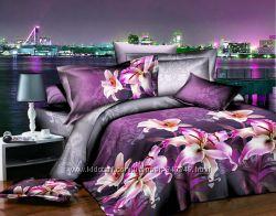Постельное белье Ранфорс, разные размеры и расцветки.