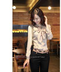 Шикарна атласна блуза, розмір 42-44