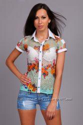 Ажурна блуза в наявності 46 розмір