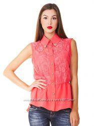 Шифонова блуза, розмір M