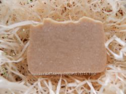 Натуральное шампуневое мыло, твердый шампунь на пиве для норм. жирн. волос