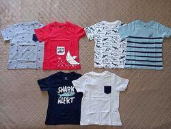 р-ры. от  86 до 116, набор футболок 2 шт. Лупилу Lupilu, Германия