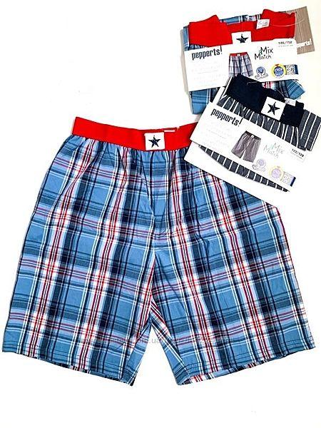 от 134 до 164, трусы шорты пижамные, семейные для мальчиков, Pepperts, Герм