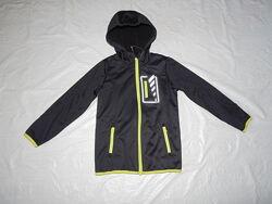 р. 110-116, 122-128, куртка софтшелл softshell на флисе Crivit, Германия