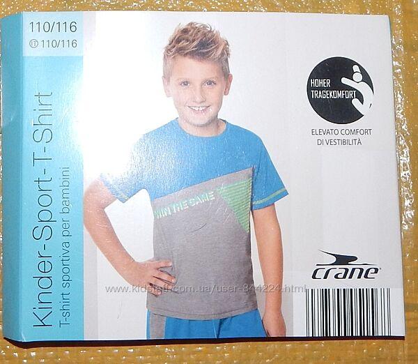 р. 110-116, функциональная спортивная футболка Crane, Германия