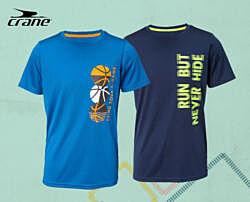 р. 122-128, функциональная спортивная футболка Crane, Германия