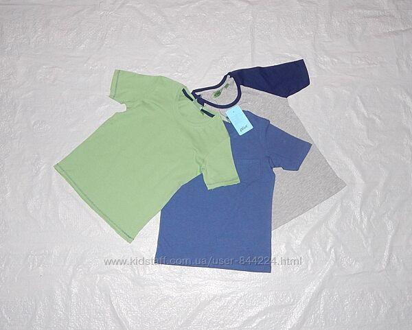 набор 3 шт р. 110-116 , футболка хлопок Alive, Германия