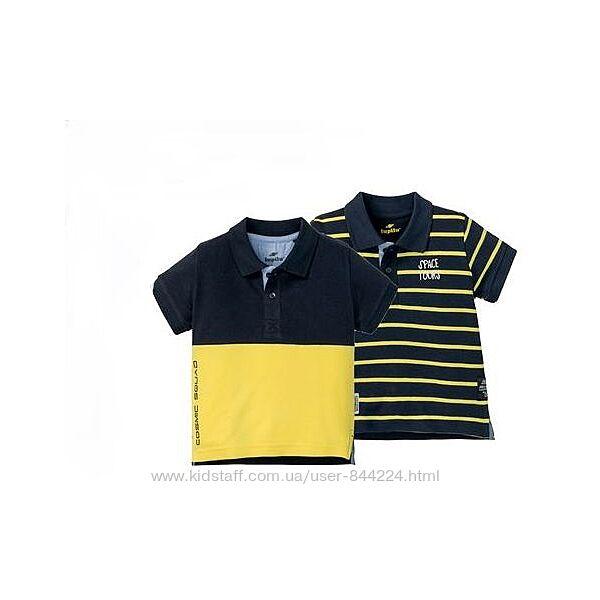 набор 2 шт р. 98-104, футболка поло хлопок Лупилу Lupilu, Германия
