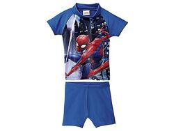 р. 74-80 Купальный костюм с уф-защитой плавки мальчик Spiderman