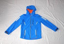 р. 146-152, куртка ветровка софтшелл на флисе TCM Tchibo
