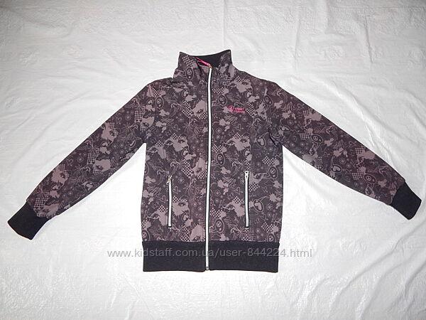 р. 158-164, куртка ветровка софтшелл на флисе Yigga