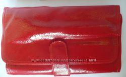 Набор натуральных кистей для макияжа 21 шт в красном чехле