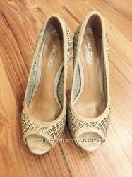 туфли летние, кожа, очень красивые, состояние отличное