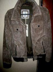 Замшевая куртка немецкого бренда TOM TAILOR, раз написан 42 на наш 4