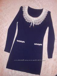 Отличное платье мелкая вязка в прекрасном сотоянии