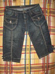 Продам бриджи джинсовые, р. 46