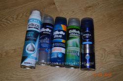 Гель для бритья ELKOS,  Nivea, Gillette