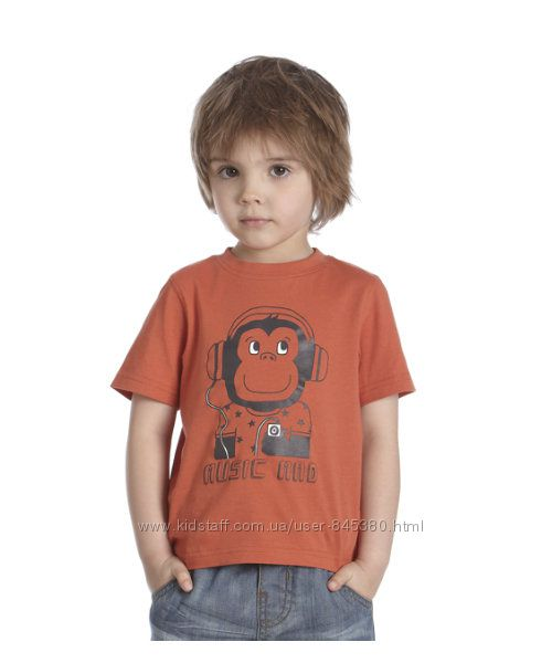 Наша любимая футболка Mothercare р. 4-5 лет