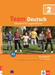 Team Deutsch 2. Підручник та зошит. Курс німецької мови для молоді