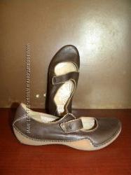 Clarks Кларкс  балетки-туфли кожа