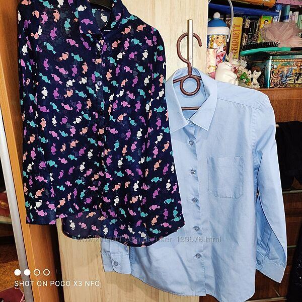 Фирменные блузки для девочки