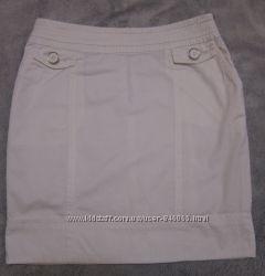 отличную белую летнюю юбку Остин, размер S