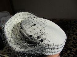 Шляпка белая