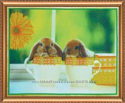 Набор для  вышивки Кролики