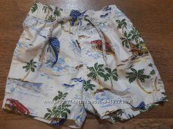 шорты для пляжа, плаванья  12-18мес